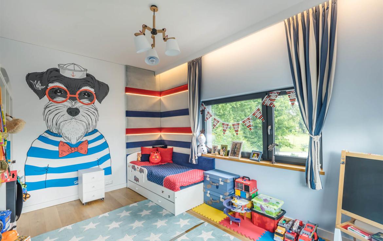 Dom Orłowo pokoik dziecięcy