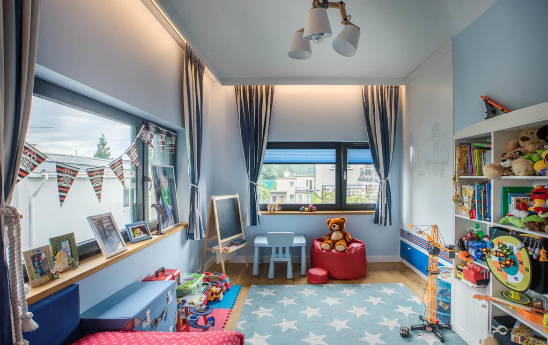 Dom Orłowo pokój dziecięcy