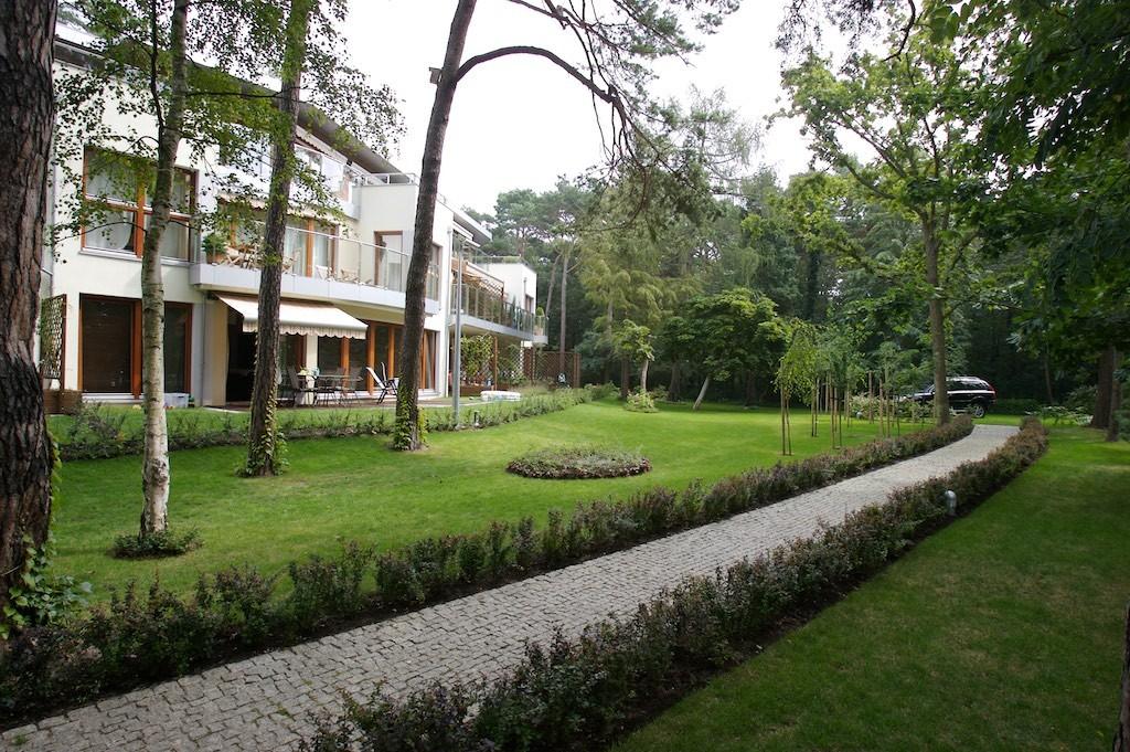 Apartament w Juracie ogród