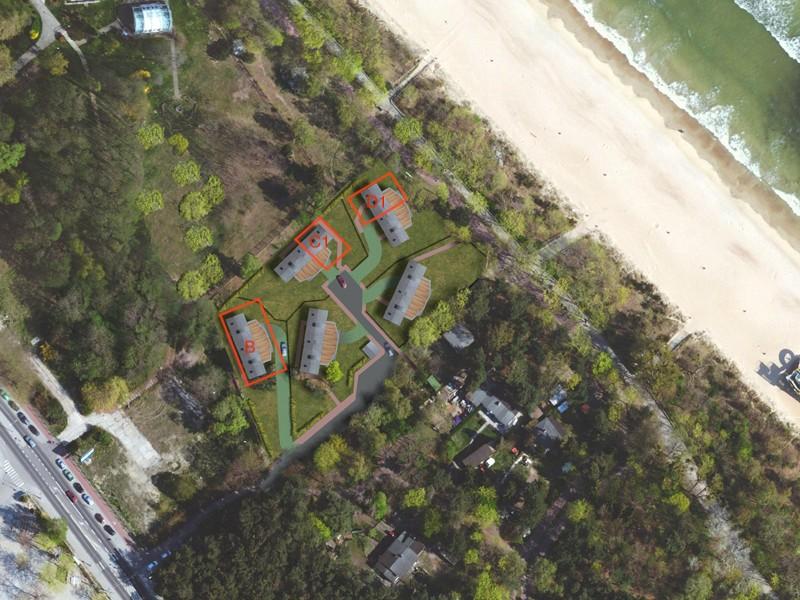 Mapa Sea Apartments